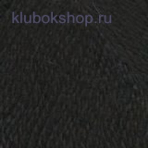Пряжа Подмосковная (Троицкая) Черный 140 - фото