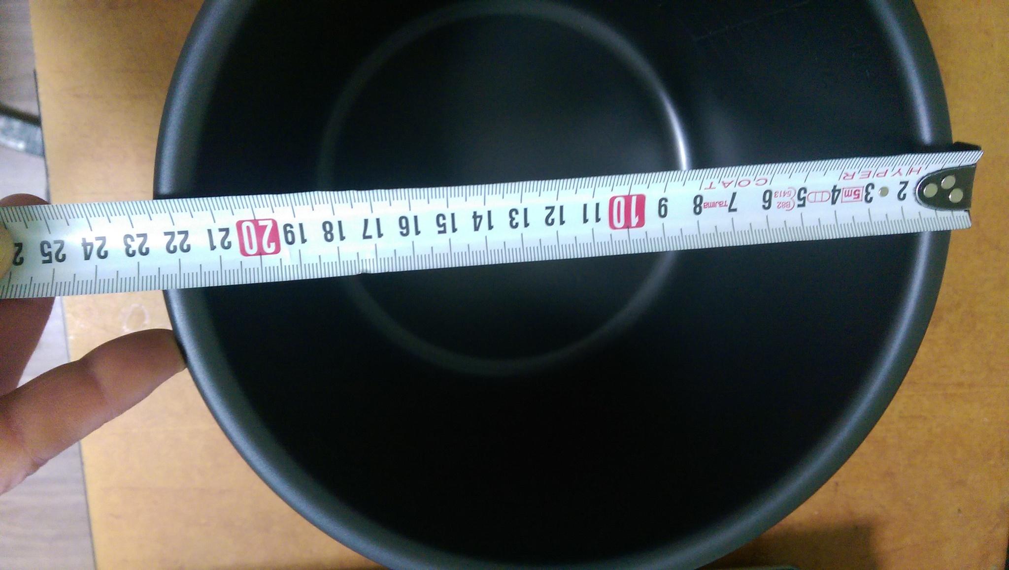 Мультиварка Panasonic SR-DY181WTQ Диаметр чаши составляет 22.7 см (227 мм)