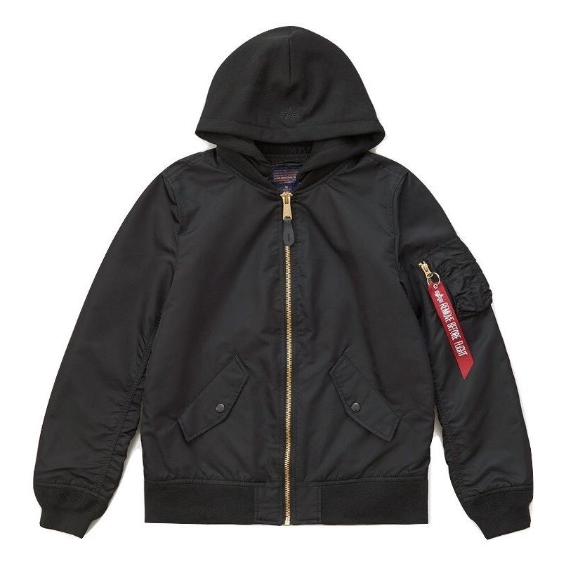 Куртка Alpha Industries L-2B Natus W Black (черная)
