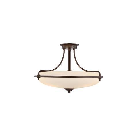 Потолочный светильник Quoizel, Арт. QZ/GRIFFIN/SFSPN