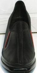 Женские кожаные туфли черные демисезонные H&G BEM 167 10B-Black.