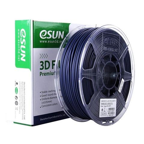 ESUN PLA+ 1.75 мм 1кг., темносиний