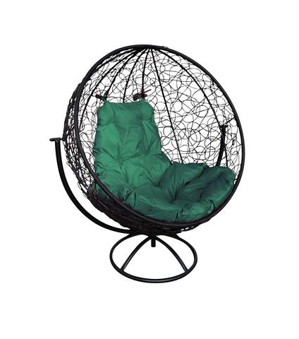 Кресло вращающееся Milagro black/green