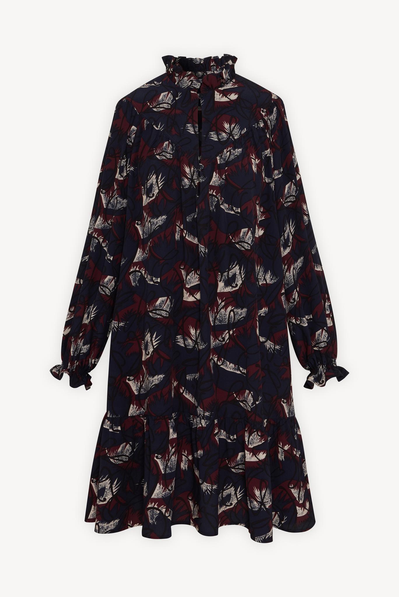 JULY - Короткое свободное платье с рюшами