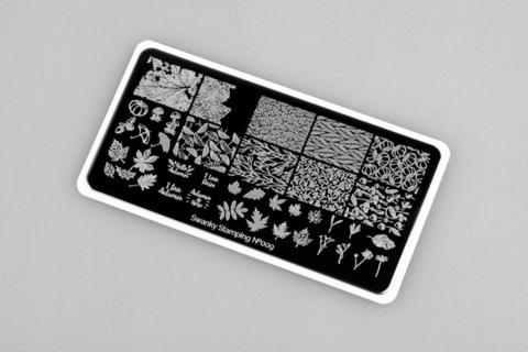 Пластина Swanky Stamping №009