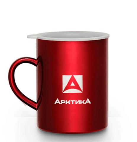Термокружка Арктика (0,4 литра), красная