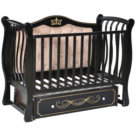 Кровать детская Виолетта O-2 (универсальный маятник, закрытый ящик)
