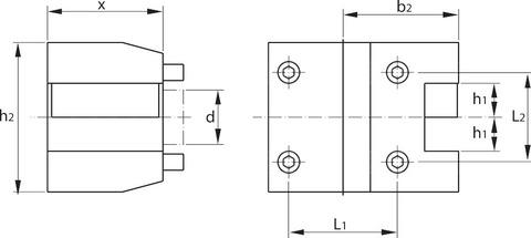 Аксиальный резцедержатель eco BMT