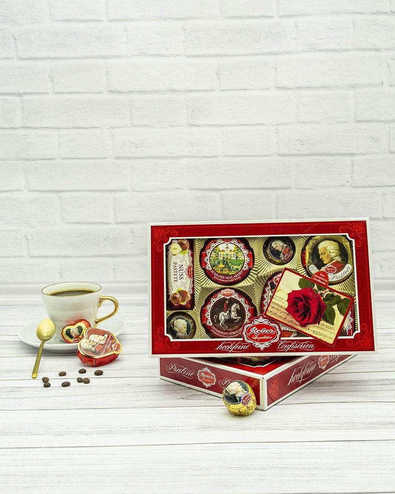 Шоколадный Конфеты Reber Ассорти 285 гр.