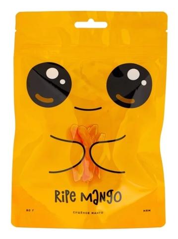 Манго Ripe mango cушеное, 80 г