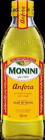 Monini Масло оливковое Anfora, стеклянная бутылка, 500 мл