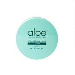 Гидрогелевые патчи для глаз, HOLIKA HOLIKA, Aloe Soothing Essence 80% Hydrogel Eye Patch Calming 60in