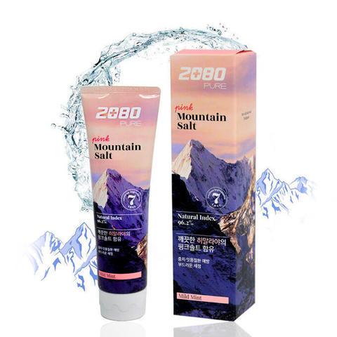Зубная паста розовая Гималайская соль 120 гр