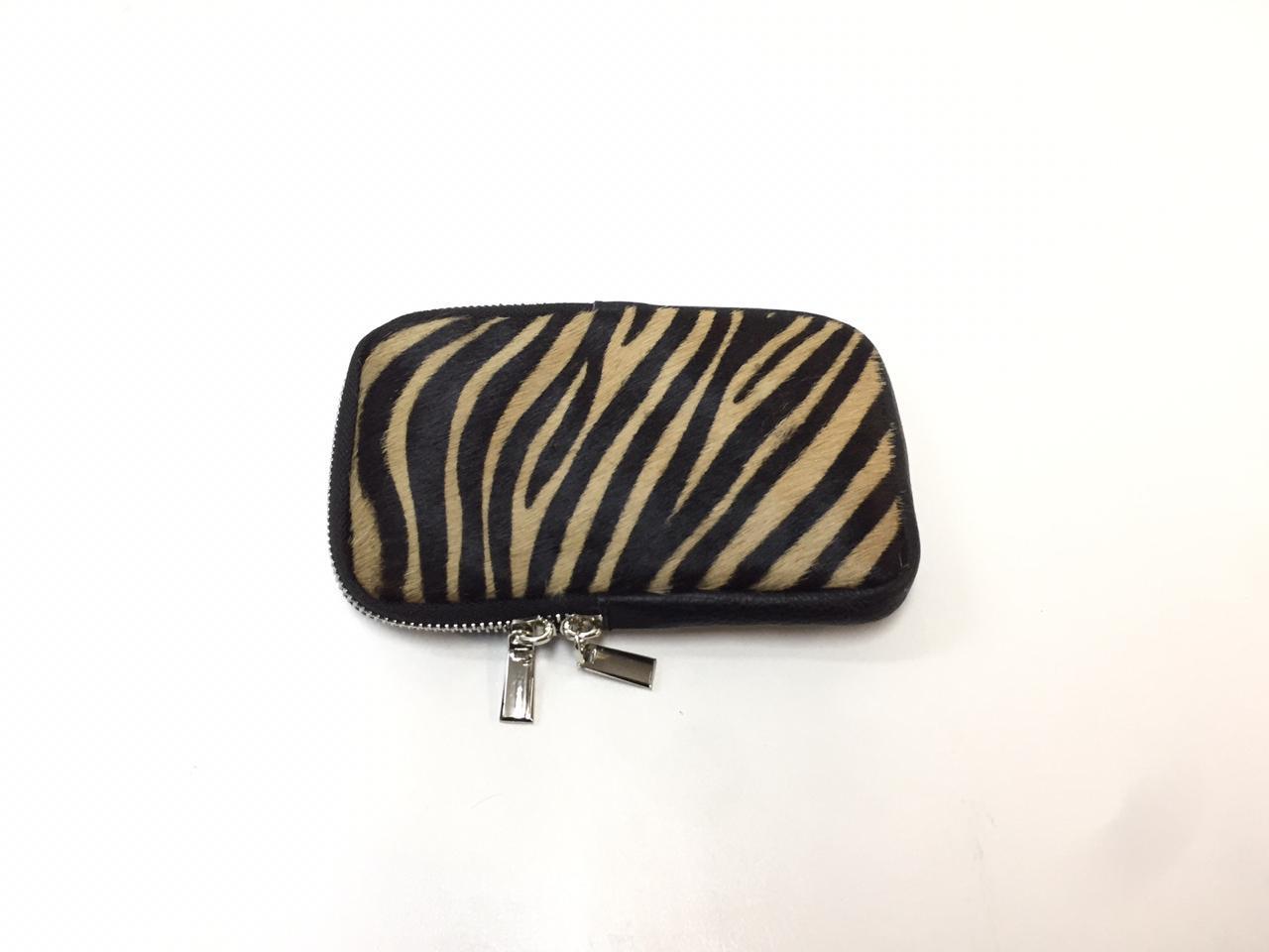 Mini bag, UNO, Animal (зебра бежевая)