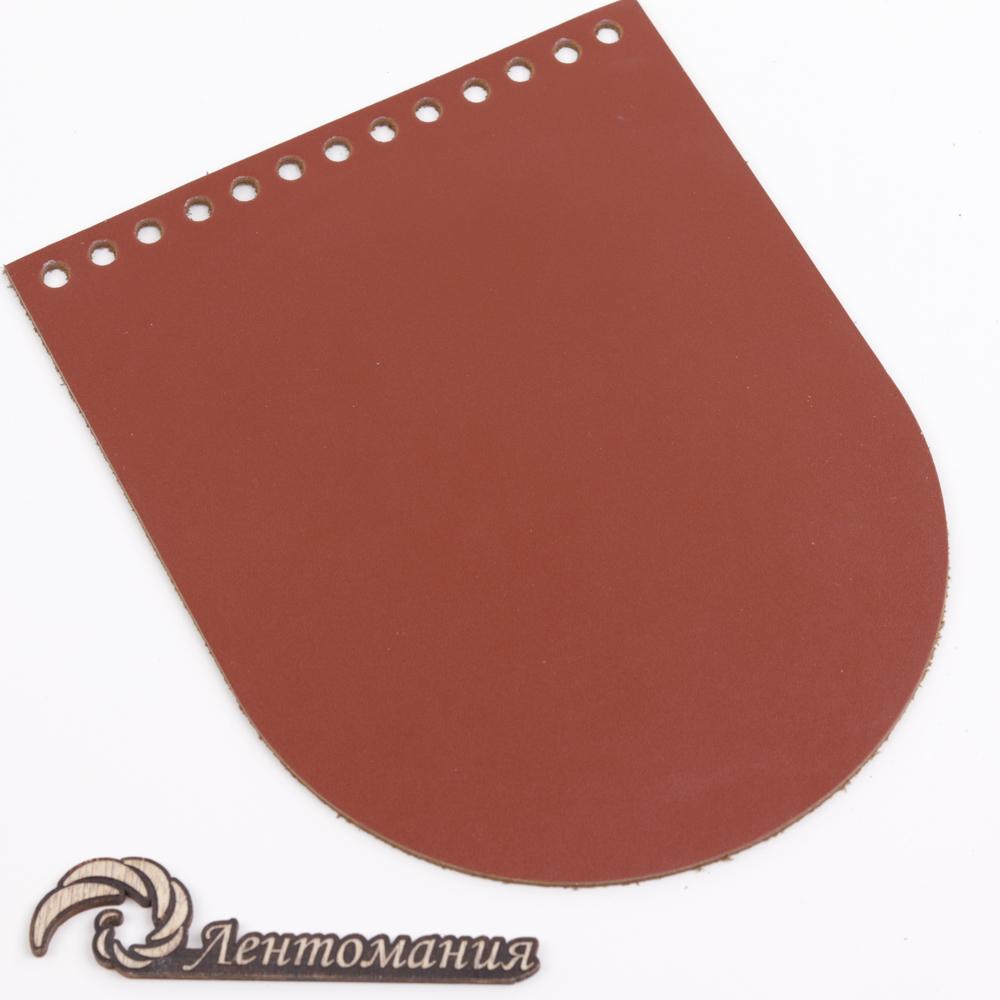 """Вся фурнитура Клапан для сумочки кожаный """"Коньяк"""" 15,5*19,5 см 20210328-IMG_0219.jpg"""