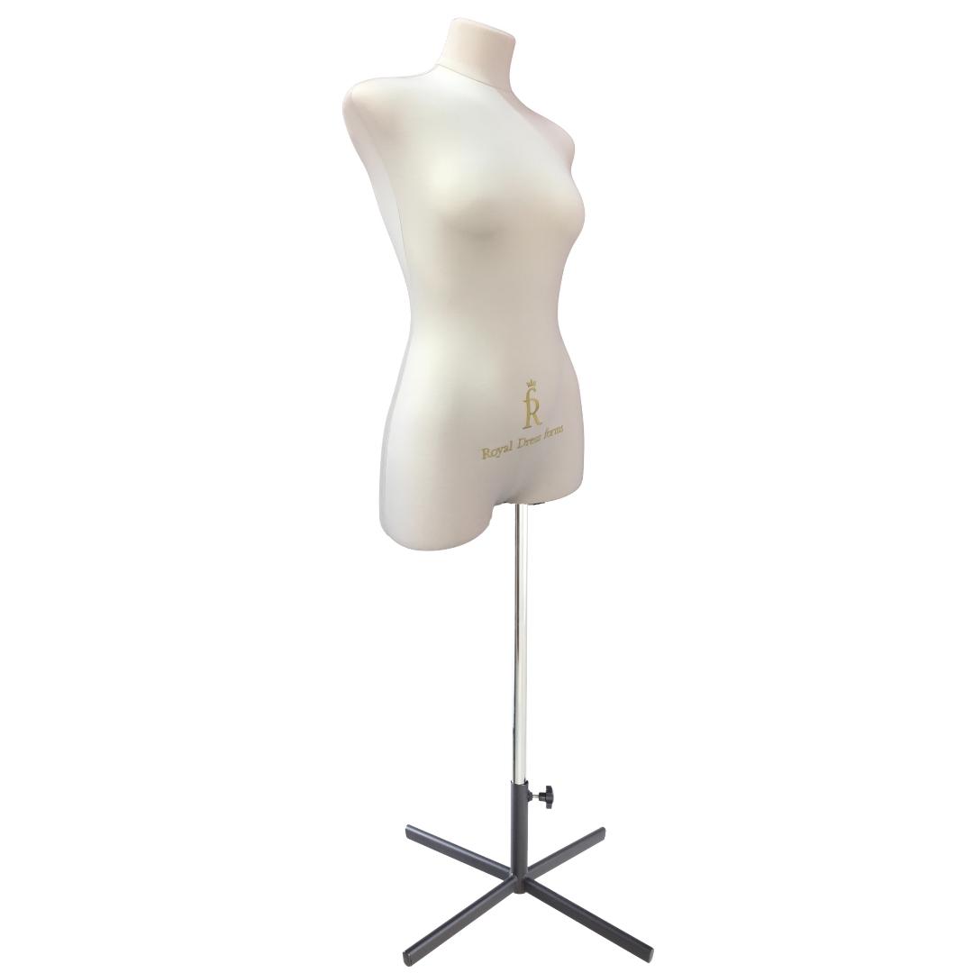 Манекен портновский Кристина, комплект Премиум, размер 44, тип фигуры Прямоугольник, бежевыйФото 2
