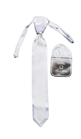 Галстук + платок Angelo Roma с украшением для сорочки под бабочку