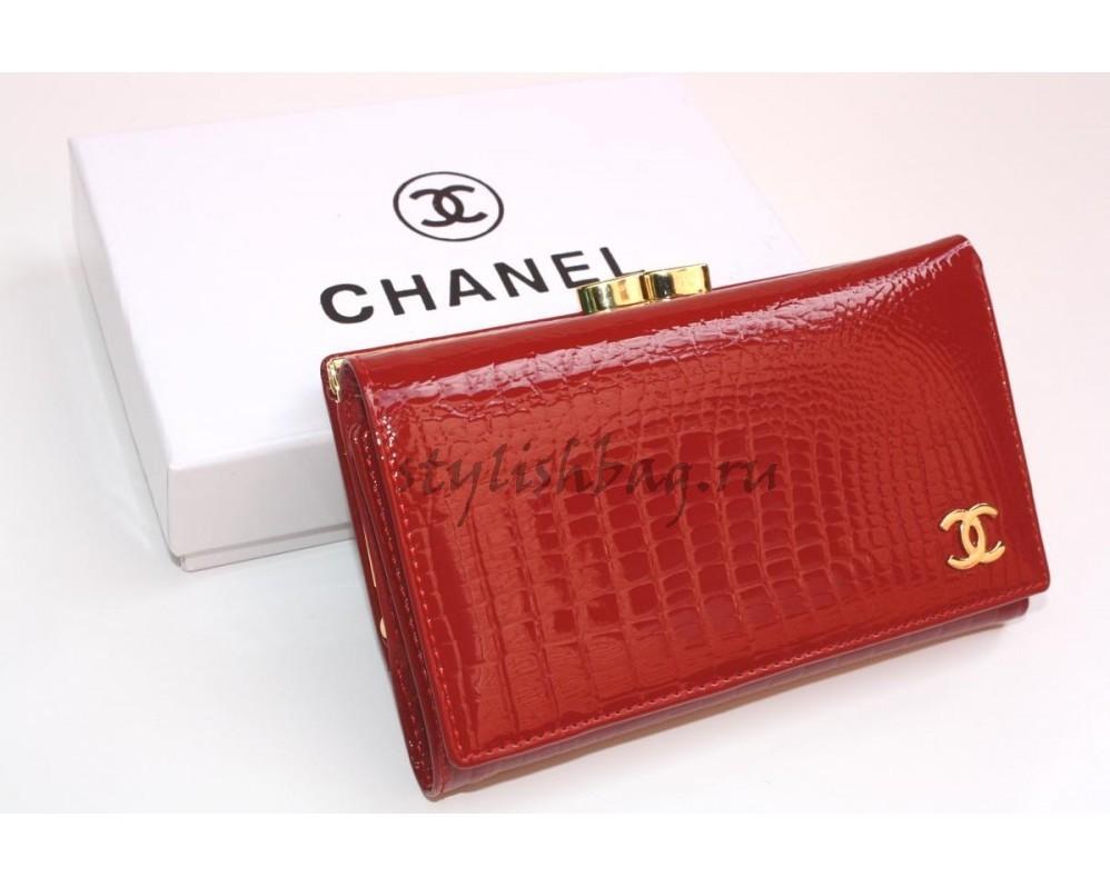 женский кошелек Chanel 9011 red в интернет магазине Stylishbag