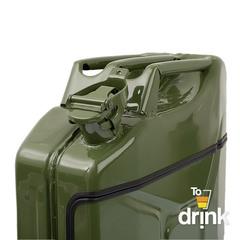 Бар-канистра «Заначка от жены» 20 л, зеленая, фото 5