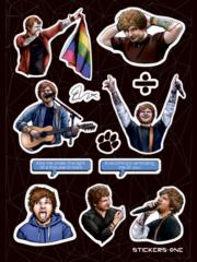 Набор стикеров Ed Sheeran