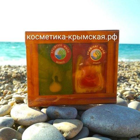 Мыло натуральное набор «Мелисса+Арника»™Фитон-Крым
