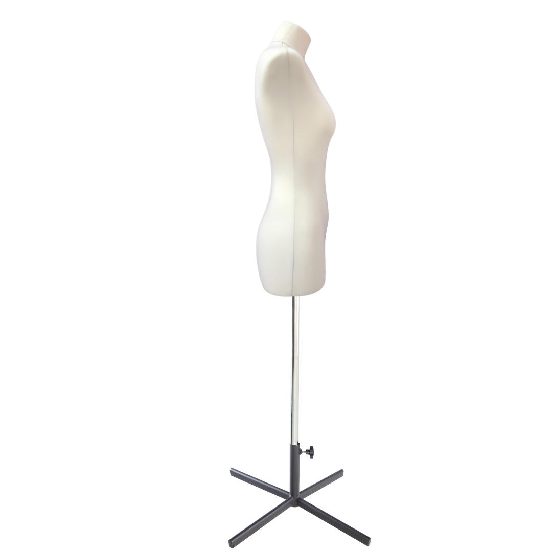 Манекен портновский Кристина, комплект Премиум, размер 44, тип фигуры Прямоугольник, бежевыйФото 3