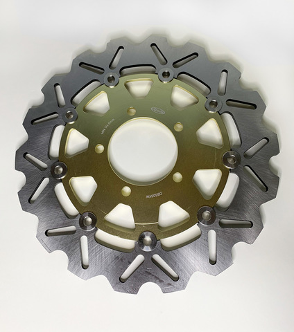 Передние тормозные диски ARASHI для Kawasaki ER6F/N, ZX-10R 04-07