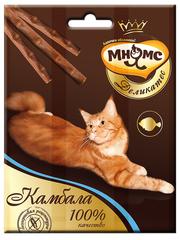 Лакомые палочки 9 см для кошек Мнямс Деликатес с камбалой