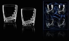 Подарочный набор из 4 стаканов для виски «Бриллиантовый», фото 1