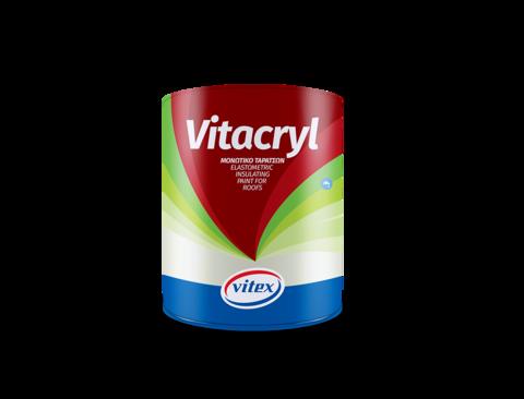 Гидроизоляционная акриловая краска с высокой эластичностью Vitacryl