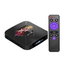Смарт ТВ приставка X10 Plus TV BOX 4/32 Гб Андроид 9.0