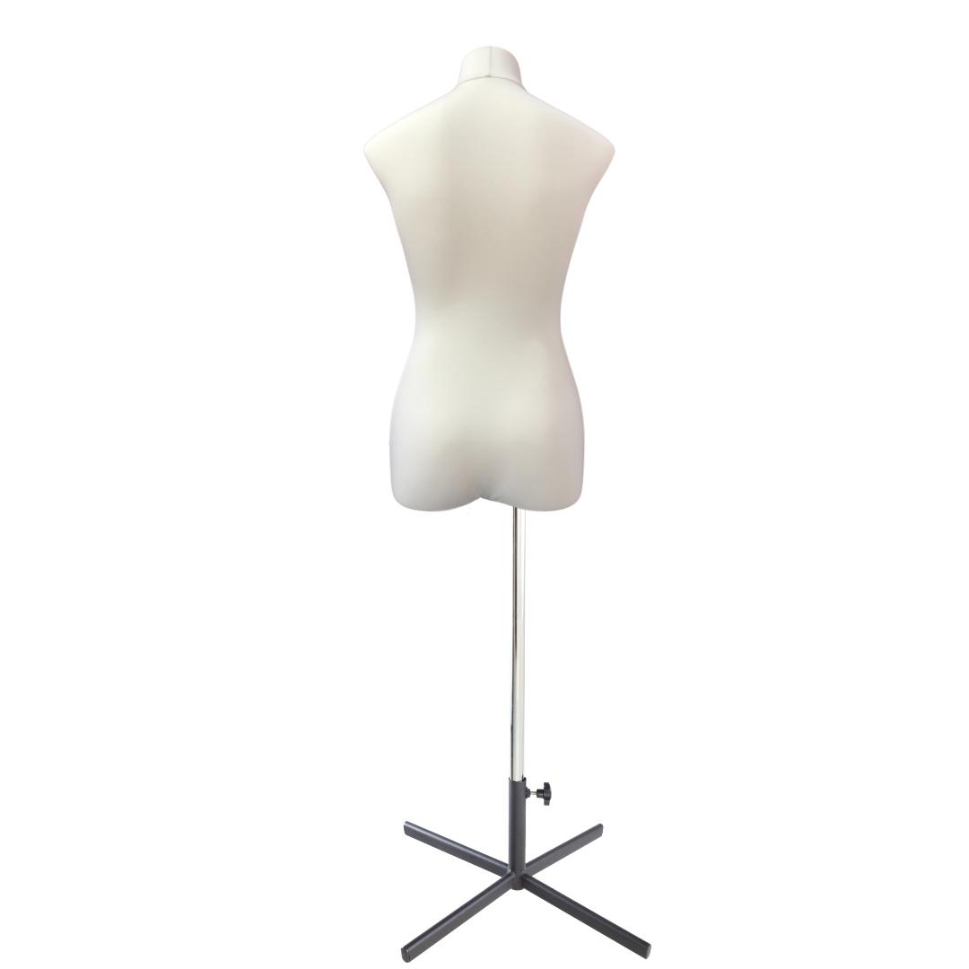 Манекен портновский Кристина, комплект Премиум, размер 44, тип фигуры Прямоугольник, бежевыйФото 4