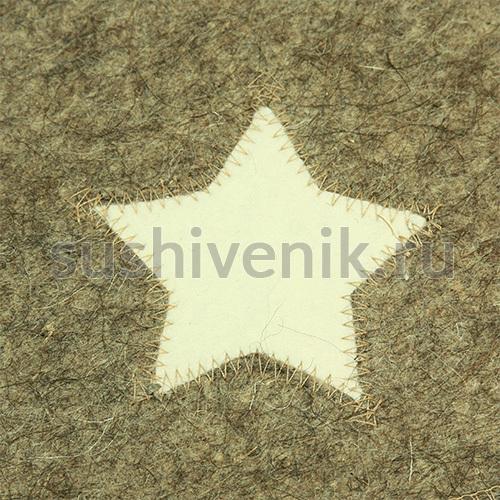Войлочная рукавица Звезда