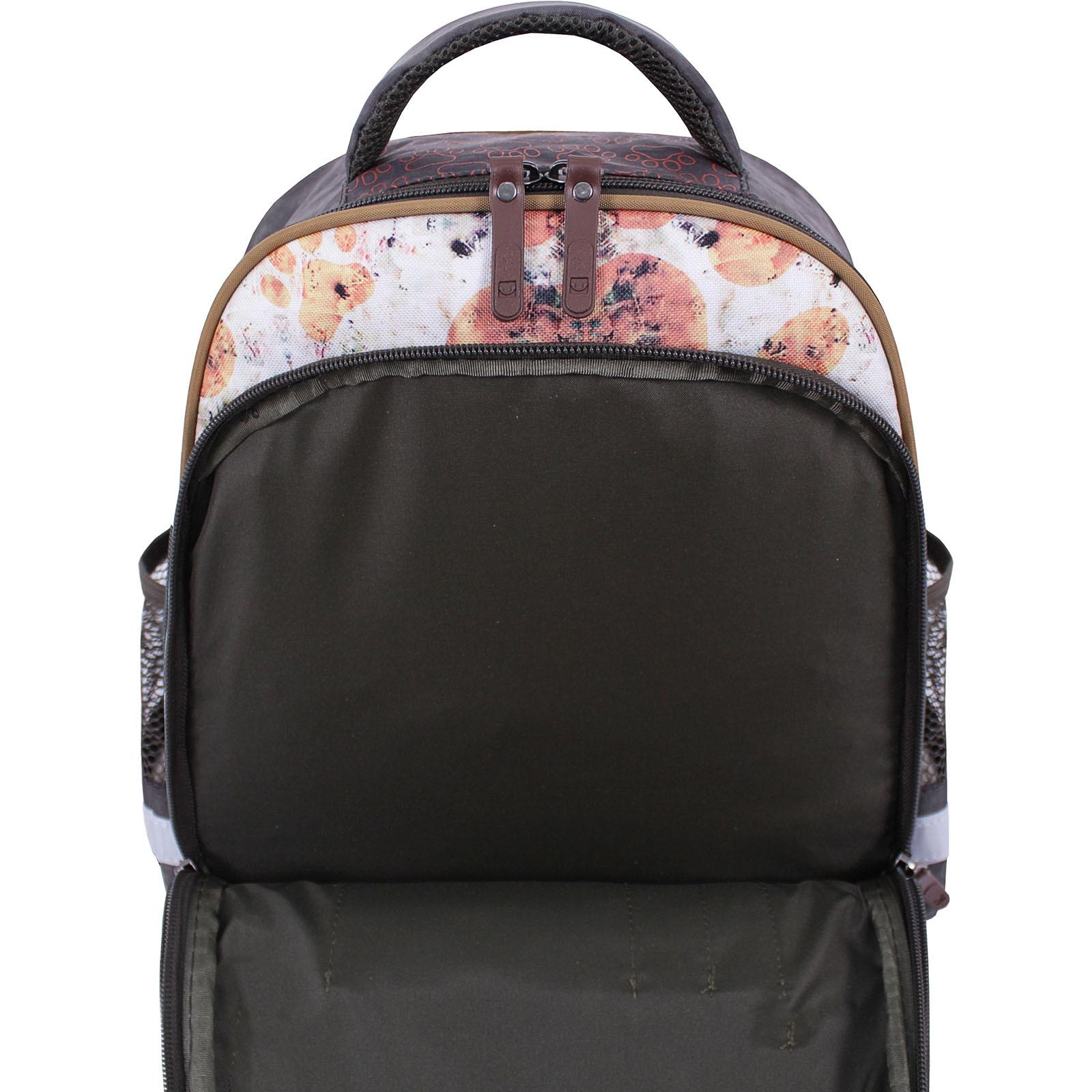 Рюкзак школьный Bagland Mouse 327 хаки 513 (0051370) фото 5