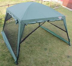 Туристический тент-шатер Campack Tent G-3001W (со стенками) (зеленый)