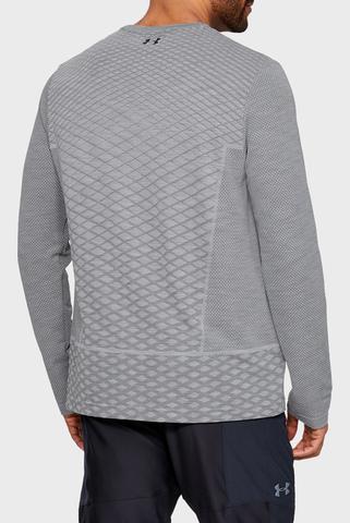 Мужской серый лонгслив UA Vanish Seamless Long Sleeve Shirt Under Armour