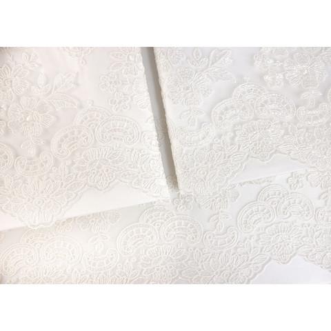 Постельное белье MINOSO крем с кружевом TIVOLYO HOME Турция