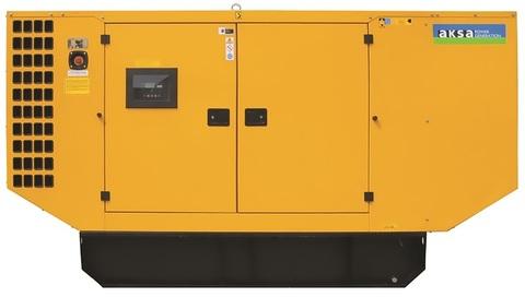 Дизельный генератор Aksa AP 150 в кожухе
