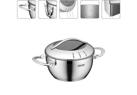 Кастрюля со стеклянной крышкой Maruska, 16 см/1,4 л NADOBA