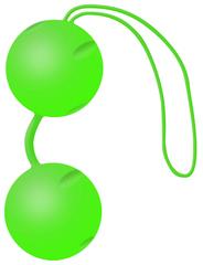 Joyballs Вагинальные шарики Trend зеленые матовые