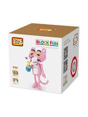 Конструктор LOZ 2 в 1 Розовая пантера 890 деталей NO. 9785 Pink Panther 2 in 1 iBlockFun Series