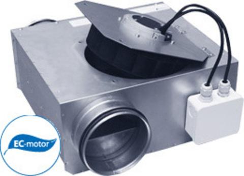 Низкопрофильные канальные вентиляторы Ostberg 125 С1 ЕС серии LPKB для круглых воздуховодов