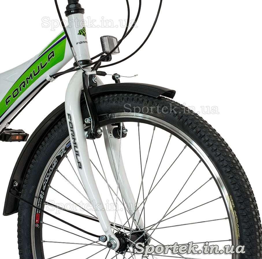 Вилка, покрышка, тормоз городского женского подросткового велосипеда Формула Галло 2015