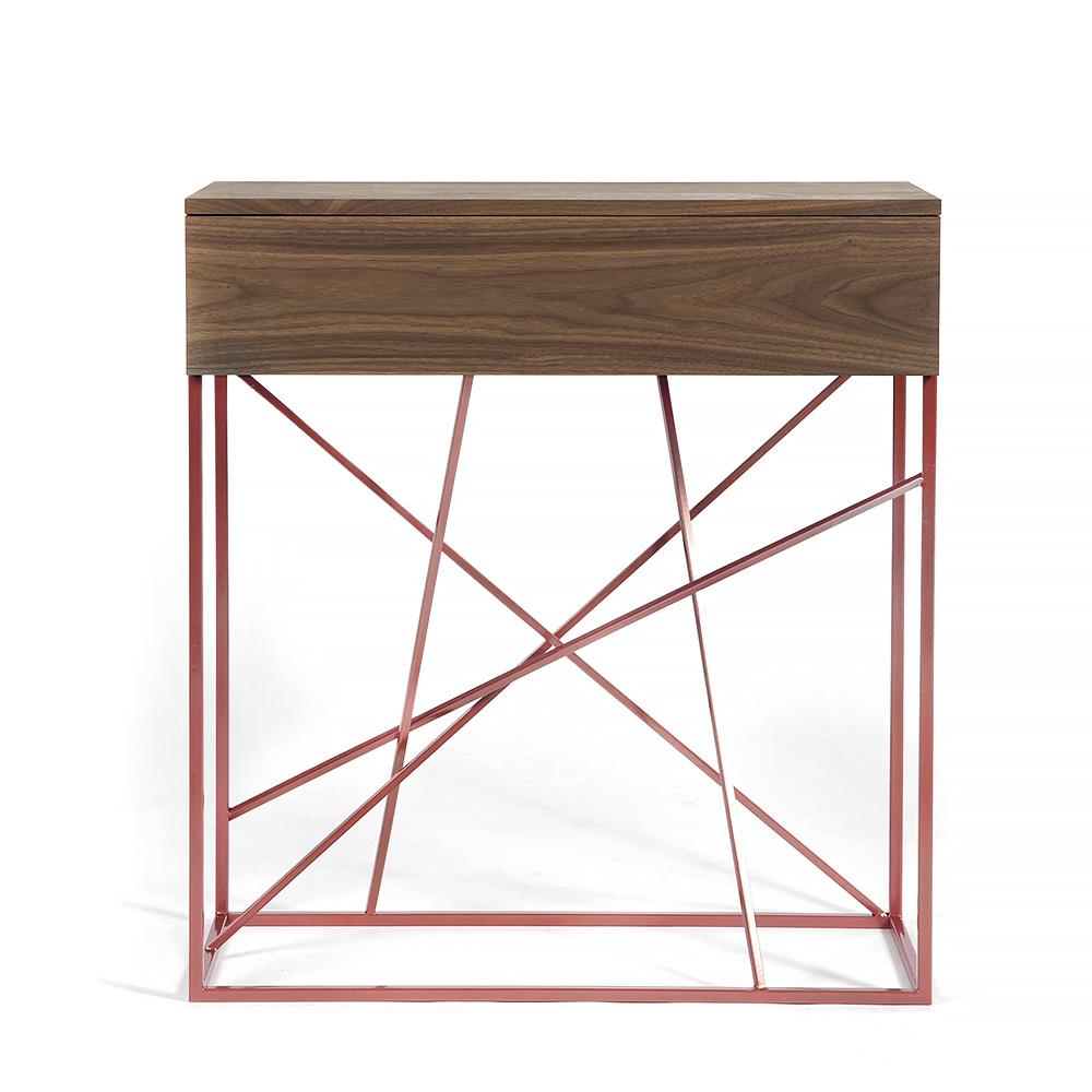 Тумба Intelligent design Wilson box copper - вид 1