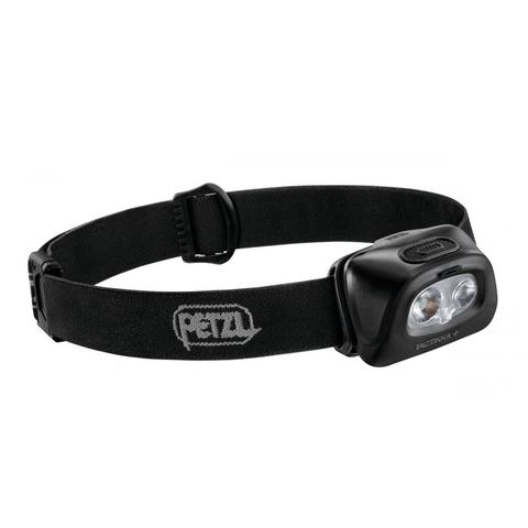 Фонарь светодиодный налобный Petzl Tactikka + черный, 350 лм