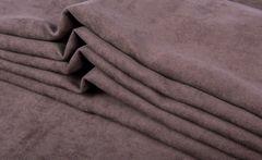 Штора готовая однотонная из портьерной ткани | цвет: розовато-лиловый