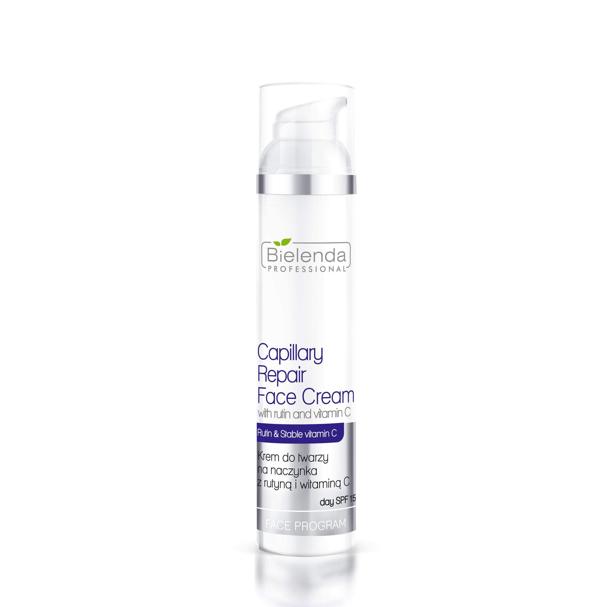 VITAMIN C AND RUTINE ANTI-CAPILLARIES Крем для лица укрепляющий сосуды с рутином и витамином С, SPF 15