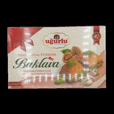 Пахлава микс орехов UGURLU, 400 гр