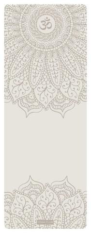 Каучуковый йога коврик Pro Om White 185*68*4,5 см