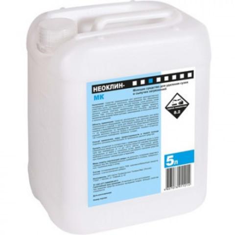 Моющее средство для удаления сухих и сыпучих загрязнений Неоклин МК 5 л (концентрат)